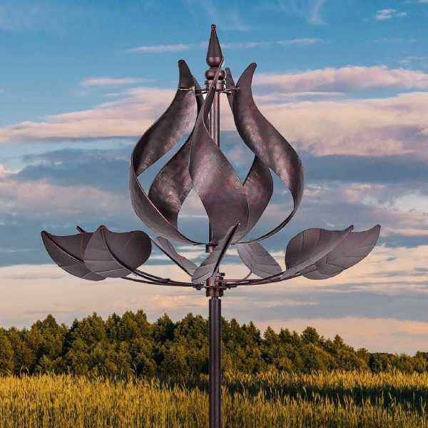 3D Metal Wind Spinners – A Whimsical Decor