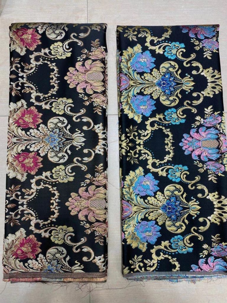 A Sophisticated Time with Brocade Textile